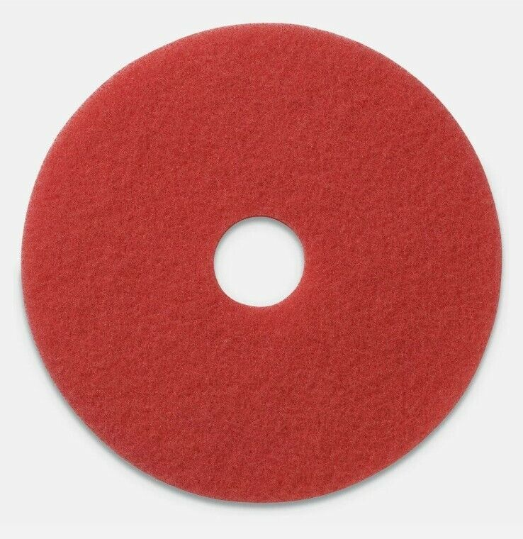 """NEW.. LIGHTHOUSE 13"""" RED FLOOR BUFFING PADS 10 PER CASE CLEANING"""