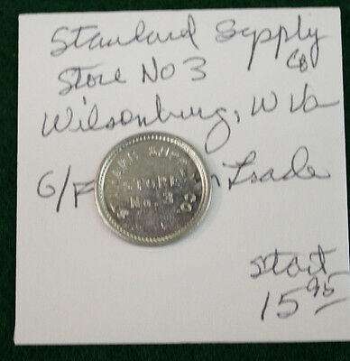 The Supply Store (The Stanard Supply Company Store no.3 10 cent token - Wilsonburg, W.)