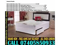 BRAND NEW Double Single King Size Dlvan Bed WITH MATTRESS. Sutton