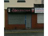Shop, office space, retail Business for sale..Inc fixtures and fitting.