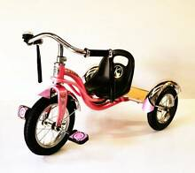 12'' Rubber Tyre Retro Style Tricycle Pink (#033) South Granville Parramatta Area Preview