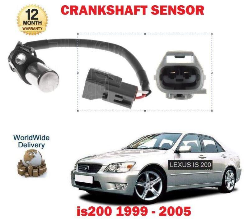 FOR LEXUS IS200 2.0i 1G-FE 24V 1999-2005 CRANKSHAFT CRANK SHAFT ANGLE SENSOR