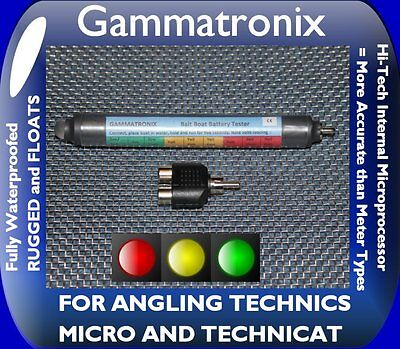 LED BAITBOAT BATTERY INDICATOR METER FOR ANGLING TECHNICS MICRO AND TECHNICAT