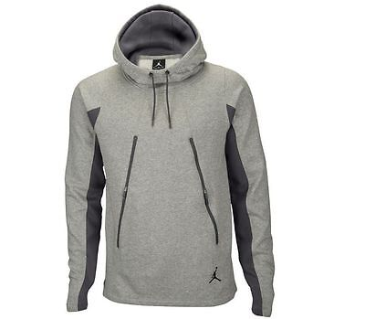 b49959a9607 Nike Men s Jordan Pullover Gray Hoodie Basketball Size Large.  . 45.99. Buy  It Now. Free Shipping