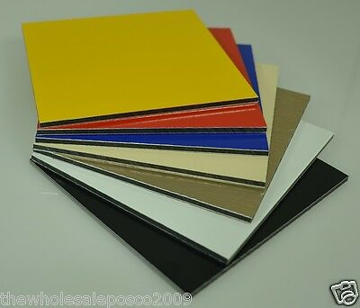 Aluminium Composite Sheets Diabond Alupanel Sign Material Sheeting Colours
