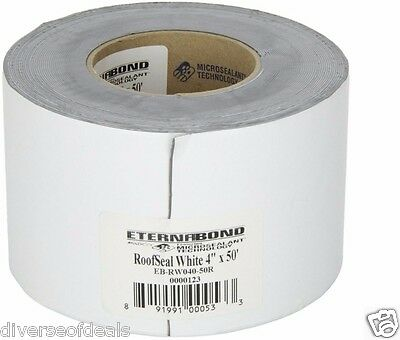 RV White Roof Seal Repair Patch Tape Camper  Travel Trailer Motorhome Motor Home