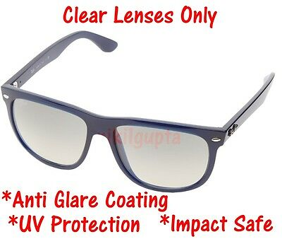 CLEAR RB4147 Replacement Lens UV Protect + Anti Glare Coating Ray Ban 60mm (Sunglasses Anti Glare Coating)