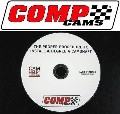 sale comp cams dvd proper way to install degree a camshaft ...