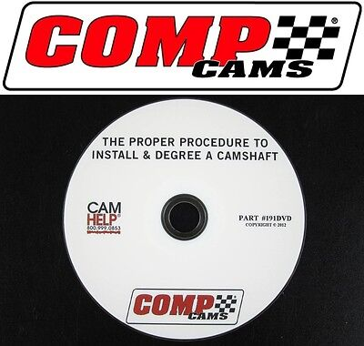 sale comp cams dvd proper way to install degree a camshaft 190dvd fad