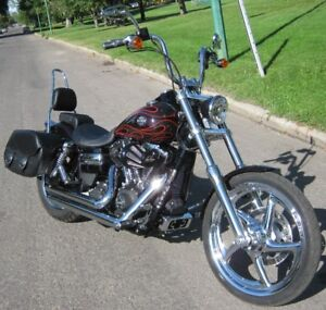 2014 Harley Davidson FXDWG 103 Cubic Inch Wide Glide ONLY 381 KM