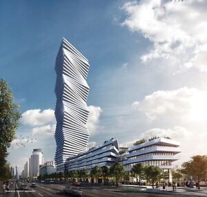 New condo complex in Mississauga. M CITY invest nows your chance