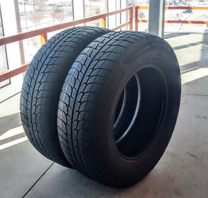 Set of two 215/70/15  Michelin X-Ice winter tires