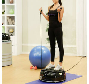 VIBRA FIT EXERCISE MACHINE WITH RESISTANCE BANDS