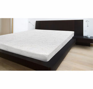 "New in box 8"" queen gel memory foam Healthopedic mattress"