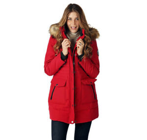 ARTIC EXPEDITION DOWN COAT W. FAUX FUR COLLAR HOOD- mnx