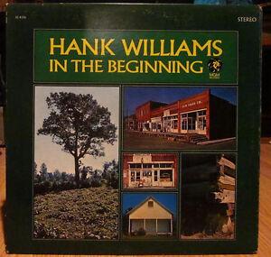 HANK WILLIAMS Vinyl Record Album - 1968 M-G-M Original