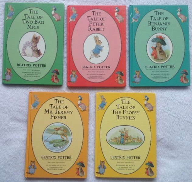 Beatrix Potter Hardcover Books