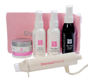 Dermawand All Inclusive Kit New Not Used Sealed NonSmoker Clean