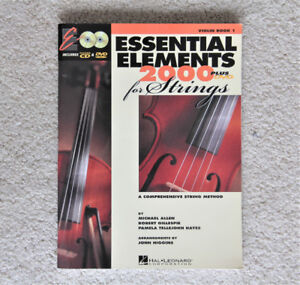 Violin method with DVDs like new