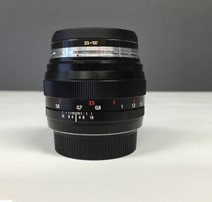 Objectif Zeiss 50mm f/1.4 Planar T* ZE pour Canon