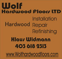Professional Hardwood Floor Refinishing, Installation and Repair