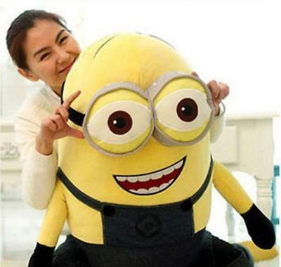 23'' Despicable Me Double Eyes Minion Big Giant Large Soft Plush Toy Doll Gift](Giant Minion)