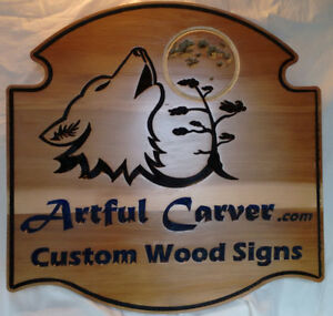 Custom Carved Personalized Wood Signs for Home, Cottage or Camp