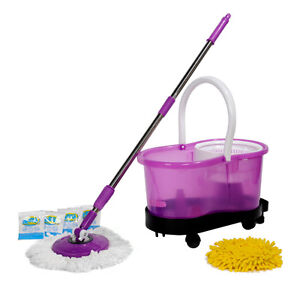 Hurricane 360° Spin Mop, Duster, Bucket and Dolly NEW!