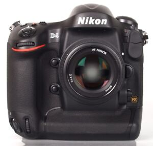 Nikon D4 body. 60000 actuation.