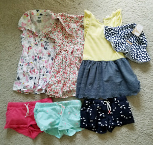 Large lot of brand name 3T summer clothes