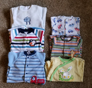 Boys sleepers size 6-12 months and 9 months