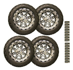 "EZGO RXV 5"" Lift & 750401PKG Tires Wheels 2013.5 Newer"