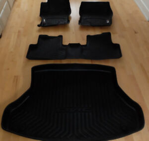 Tapis Weather tech et bac de coffre  Honda Civic 2013-2014-2015