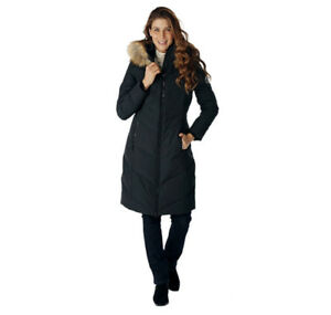 "ARTIC EXPEDITION 40"" DOWN COAT W. FAUX FUR COLLAR HOOD(3XL)- mnx"