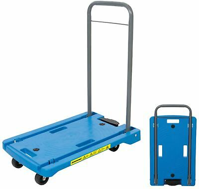 Silverline 100kg Folding Platform Hand Truck Trolley Cart Sack Flat Bed 950179