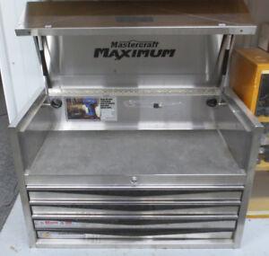 "Maximum 36""x23""x18"" Stainless Toolbox"