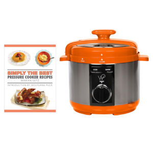 Wolfgang Puck 5-Quart Pressure Cooker with Cookbook