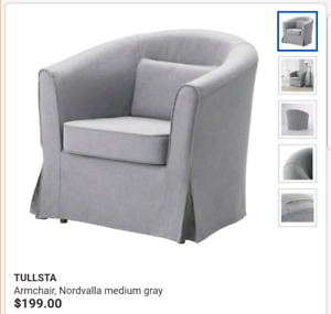 IKEA TULLSTA arm chairs