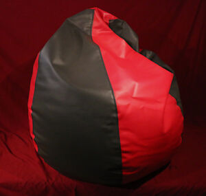 Custom Made Two Tone Big Bean Bag Chair