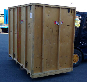 Wood Crate - Great for Garden Shed or Storage !!