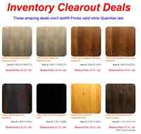 80 Product - Engineered/Laminate Flooring - INVENTORY CLEARENCE