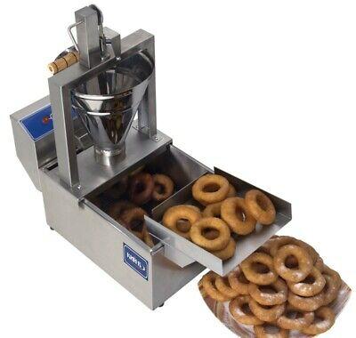 Small Business Compact Donut Fryer Maker Making Machine 80 Pcsh