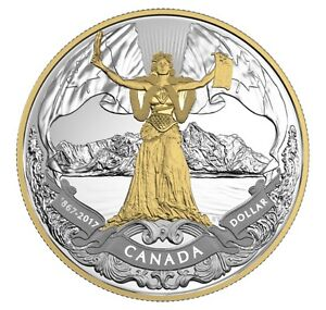 2017 Canadian Confederation, 150th Anniversary - Pure Silver