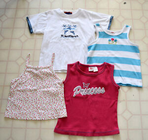 NEW & HARDLY WORN Girls Size 7 Spring / Summer Tops
