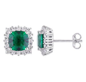 New earrings (emerald & sapphire, sterling silver) $429.99 value