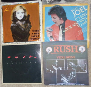 Promo 45 Rpm Vinyl Record Luba Rush Supertramp Picture Sleeves Oakville / Halton Region Toronto (GTA) image 3