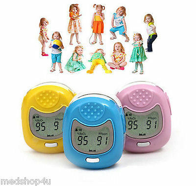 Cms50qa Child Fingertip Pulse Oximeter Pediatric Blood Oxygen Monitor Kids Spo2