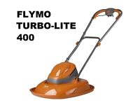 1500W Flymo Turbo 400 Electric Hover Lawn Mower / Garden Lawnmover