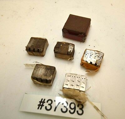 1 Lot Of Geometric Die Head Chasers Inv.37393