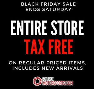 BLACK FRIDAY SALES EVENT AT HALIFAX MOTORSPORTS